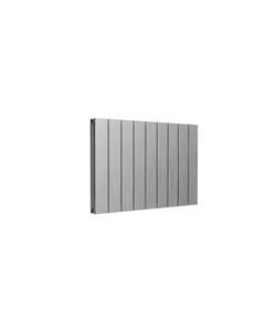 Reina Casina Aluminium Designer Radiator, Satin, 600mm x 850mm - Double Panel