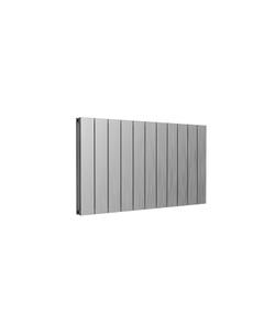 Reina Casina Aluminium Designer Radiator, Satin, 600mm x 1040mm - Double Panel