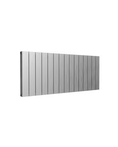 Reina Casina Aluminium Designer Radiator, Satin, 600mm x 1420mm - Double Panel