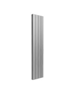 Reina Casina Aluminium Designer Radiator, Satin, 1800mm x 375mm - Double Panel