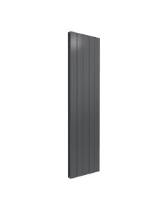 Reina Casina Aluminium Designer Radiator, Anthracite, 1800mm x 470mm - Double Panel