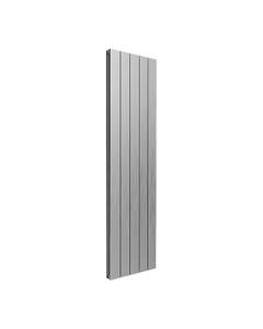 Reina Casina Aluminium Designer Radiator, Satin, 1800mm x 470mm - Double Panel