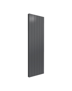 Reina Casina Aluminium Designer Radiator, Anthracite, 1800mm x 565mm - Double Panel