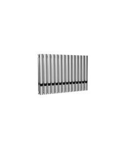 Reina Neval Aluminium Designer Radiator, Polished, 600mm x 817mm - Double Panel