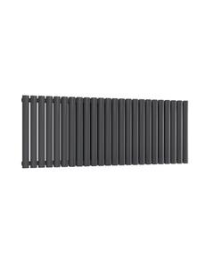 Reina Neval Aluminium Designer Radiator, Anthracite, 600mm x 1407mm - Double Panel
