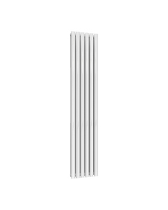 Reina Neval Aluminium Designer Radiator, White, 1800mm x 345mm - Double Panel