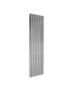 Reina Neval Aluminium Designer Radiator, Polished, 1800mm x 463mm - Double Panel