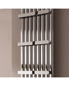 Reina Neval Towel Bar, Chrome, 300mm, for Double Panel