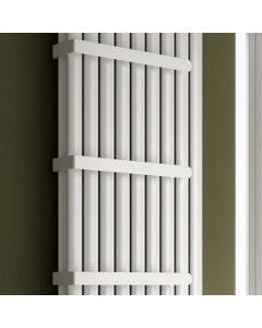 Reina Neval Towel Bar, White, 450mm, for Double Panel
