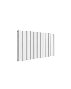 Reina Vicari Aluminium Designer Radiator, White, 600mm x 1200mm - Double Panel