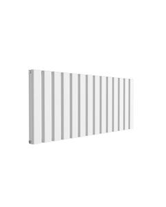 Reina Vicari Aluminium Designer Radiator, White, 600mm x 1400mm - Double Panel