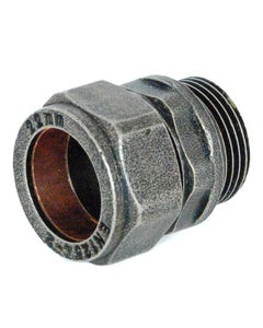 West Pewter Abbey 22mm Compression Adaptor