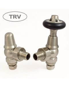 West Thermostatic Valves, Admiral, Satin Nickel Angled
