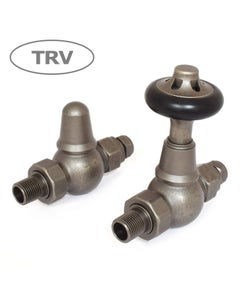 West Thermostatic Valves, Admiral, Pewter Straight