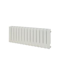 Nordic Flat Aluminium Radiator, White, 440mm x 1200mm