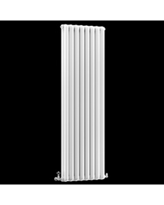 Nordic Aluminium Column Radiator, White, 1849mm x 474mm
