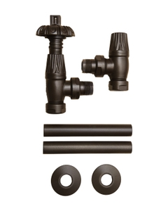 Paladin Thermostatic Valves, Canterbury, Old Penny Angled