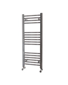 Trade Direct Towel Rail - 22mm, Chrome Straight, 1000x400mm (Electric)
