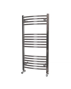 Trade Direct Towel Rail - 22mm, Chrome Curved, 1000x500mm (Electric)