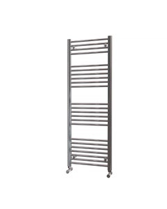 Trade Direct Towel Rail - 22mm, Chrome Straight, 1400x500mm (Electric)