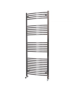 Trade Direct Towel Rail - 22mm, Chrome Curved, 1600x600mm
