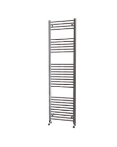 Trade Direct Towel Rail - 22mm, Chrome Straight, 1800x500mm (Electric)