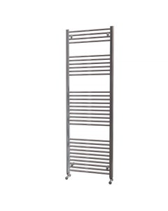 Trade Direct Towel Rail - 22mm, Chrome Straight, 1800x600mm (Electric)