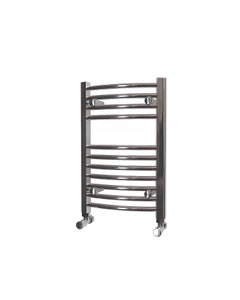 Trade Direct Towel Rail - 22mm, Chrome Curved, 600x400mm (Electric)
