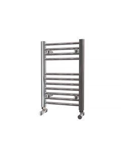 Trade Direct Towel Rail - 22mm, Chrome Straight, 600x400mm (Electric)