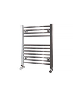 Trade Direct Towel Rail - 22mm, Chrome Straight, 600x500mm (Electric)