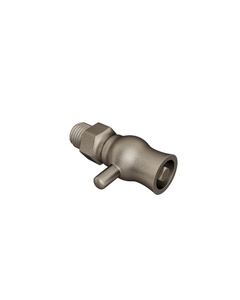 Trade Direct Bleed Valve for Cast Iron Radiators, Natural Pewter