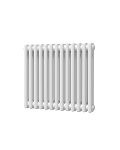 Trade Direct 2 Column Radiator, White, 500mm x 592mm