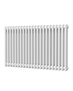 Trade Direct 2 Column Radiator, White, 600mm x 988mm