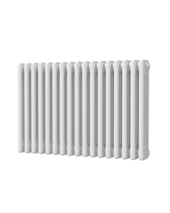 Trade Direct 3 Column Radiator, White, 500mm x 777mm