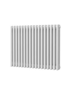 Trade Direct 3 Column Radiator, White, 600mm x 777mm