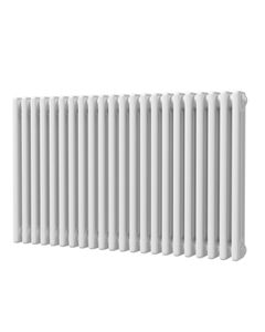 Trade Direct 3 Column Radiator, White, 600mm x 999mm