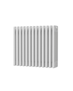 Trade Direct 4 Column Radiator, White, 500mm x 592mm