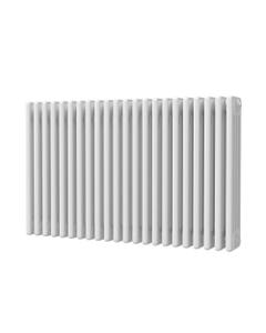 Trade Direct 4 Column Radiator, White, 600mm x 988mm