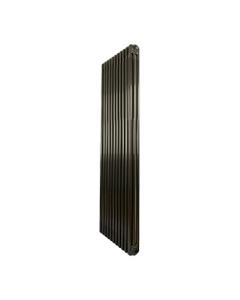 Nordic 3 Column Radiator, Raw Metal, 1800mm x 519mm