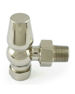 West Lock-Shield ONLY - Polished Nickel Angled - 8mm