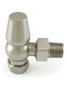 West Lock-Shield ONLY - Satin Nickel Angled - 10mm
