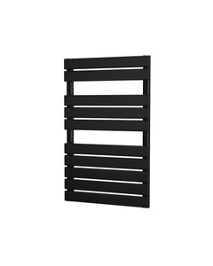 Trade Direct Nevo Bar Towel Rail, Black, 816x500mm