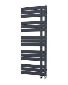 Trade Direct Nevo Triple Towel Rail, Anthracite, 1292x500mm