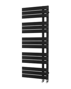 Trade Direct Nevo Triple Towel Rail, Black, 1292x500mm