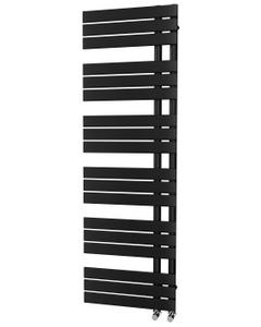 Trade Direct Nevo Triple Towel Rail, Black, 1564x500mm