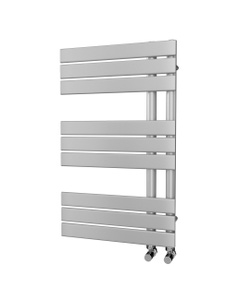 Trade Direct Nevo Triple Towel Rail, Silver, 816x500mm