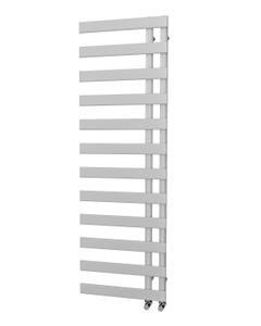 Trade Direct Nevo Offset Towel Rail, Silver, 1564x500mm
