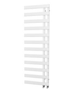 Trade Direct Nevo Offset Towel Rail, White, 1564x500mm