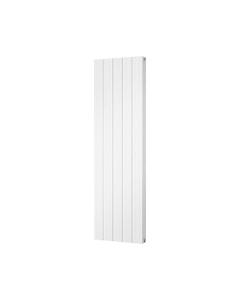Trade Direct Aphex Aluminium, Designer Radiator, White, 1600mm x 466mm - Grooved