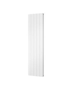 Trade Direct Aphex Aluminium, Designer Radiator, White, 1800mm x 466mm - Grooved